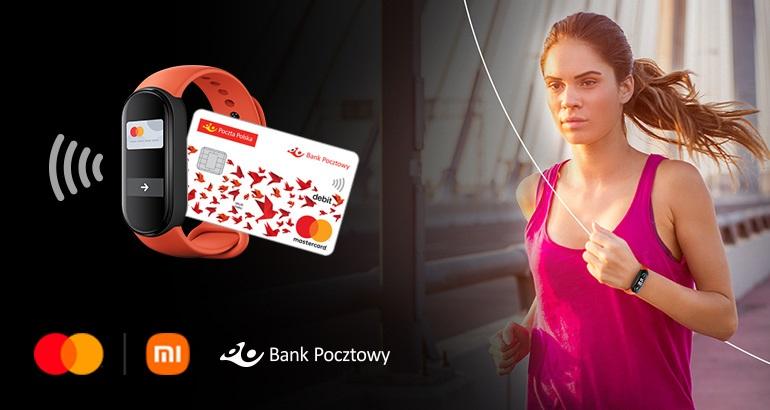 Opaska Xiaomi Pay - dla klientów Banku Pocztowego