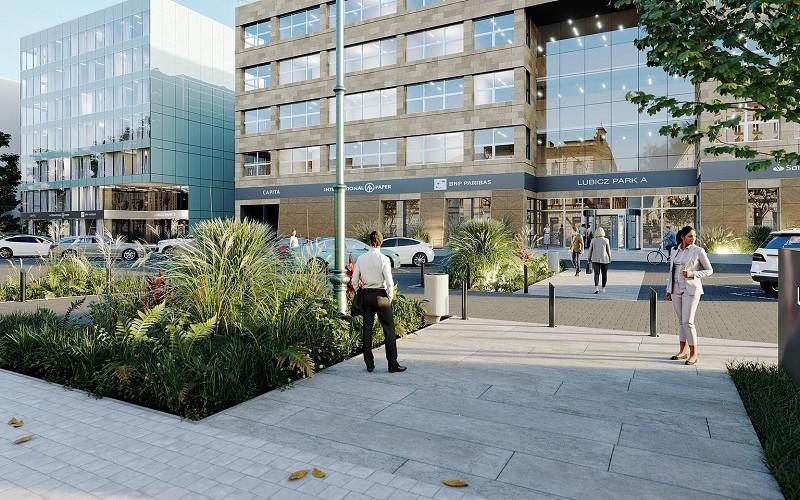 W Centrum Biurowym Lubicz będzie nowocześnie i zielono
